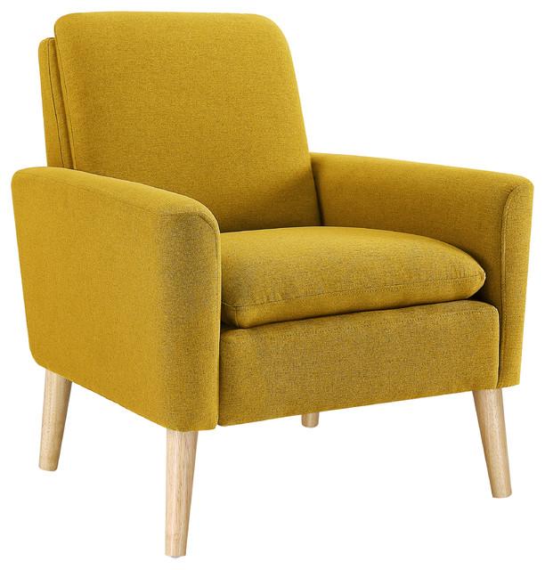 Roseann Armchair, Yellow