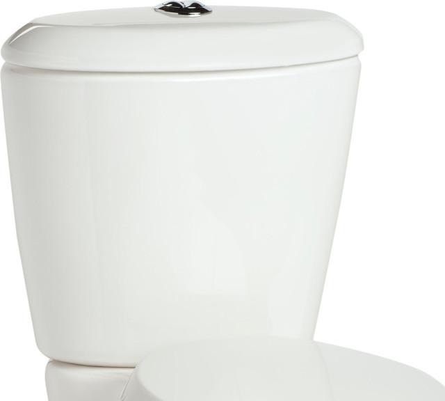 Enso Dual Flush 1 1 1 6 Gpf Toilet Tank Contemporary