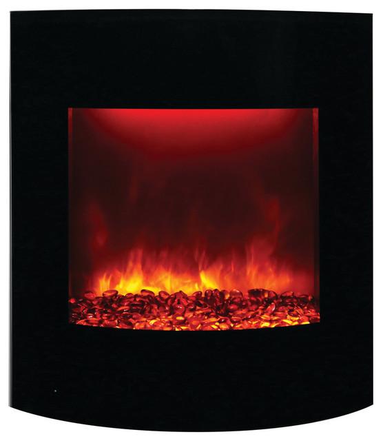 Curved Convex &x27;portrait&x27; Glass Surround For Wm-Bi-2428-Vlr Fireplace.