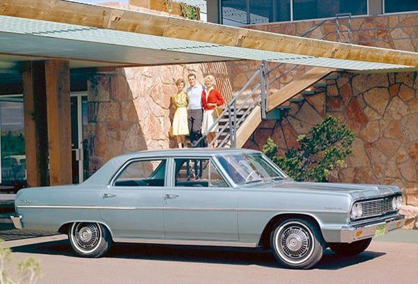 Promotional Photo Poster 1964 Chevrolet Malibu
