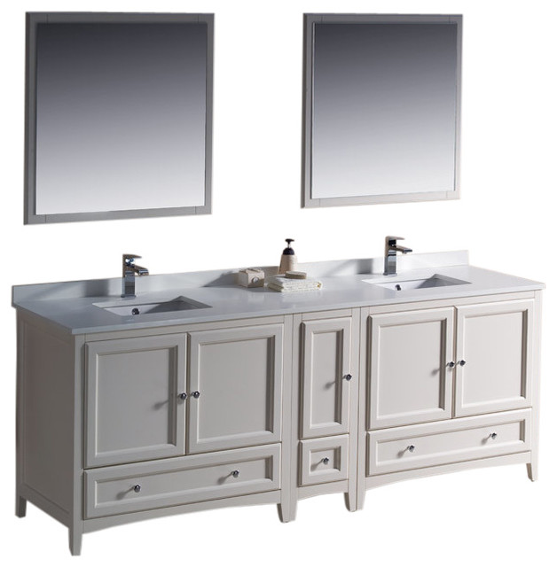 84 Bathroom Vanity Double Sink. Oxford 84 White Double Sink Vanity Side Versa Brushed Nickel Faucet