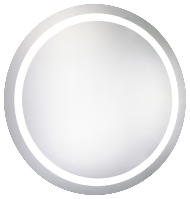 Round Dimmable Led Mirror With Demister 35