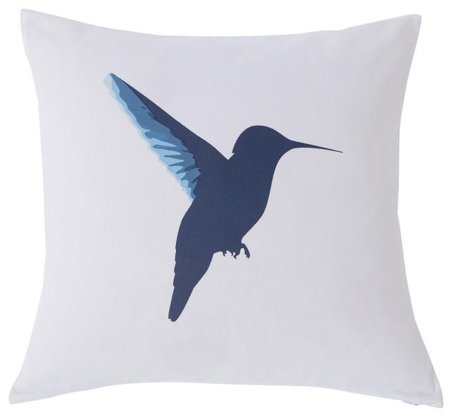 Kensie Vicki Reversible Decorative Pillow, Blue/Yellow