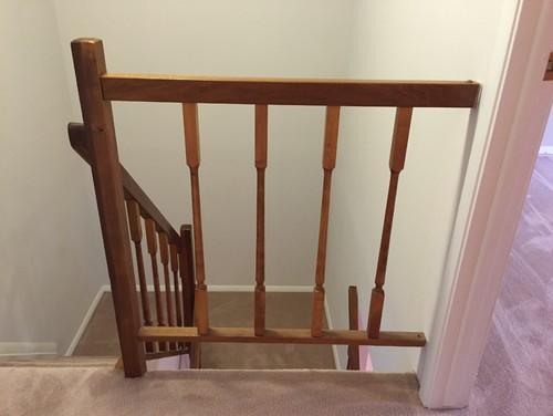 Stair Railings Temporary DIY Solution?