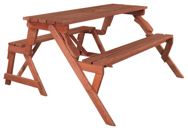 Amazing Convertible Picnic Table Garden Bench Gmtry Best Dining Table And Chair Ideas Images Gmtryco