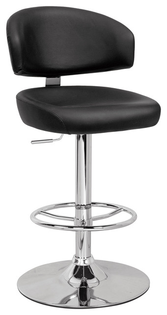 Deka Adjustable Stool With Swivel Contemporary Bar