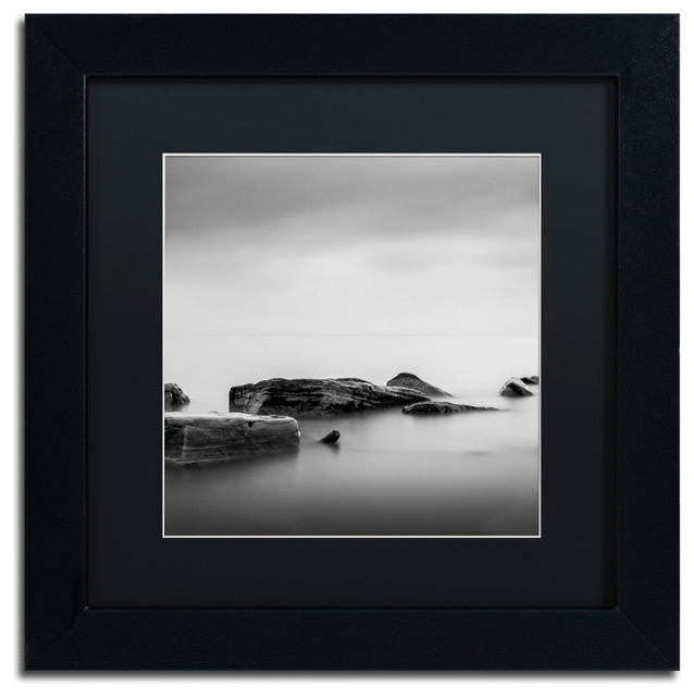 Calm\' Matted Framed Canvas Art by Dave MacVicar - Contemporary ...