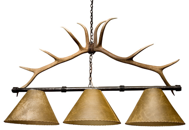 High Quality Antler Pool Table Light Rustic Pool Table Lights