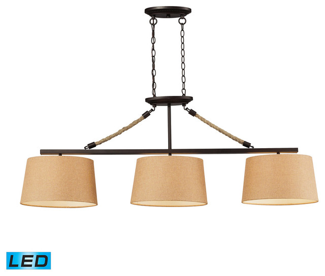 Elk Lighting 73046-3 Billiard/Island