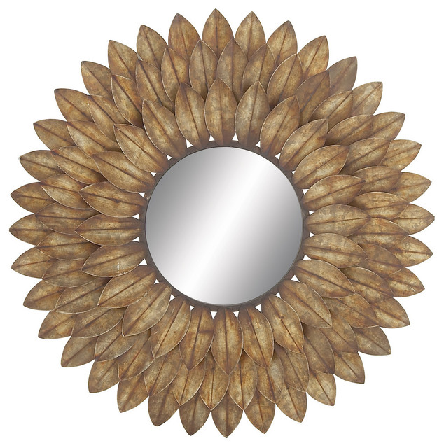 Kester Metal Wall Mirror. -2