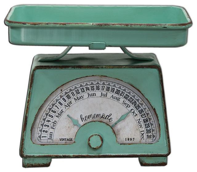 Vintage Scale Calendar
