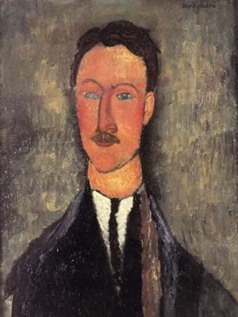 Leopold Survage Poster Print By Amedeo Modigliani Contemporary Prints And Posters By Posterazzi