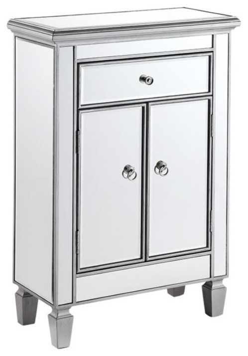 Beaumont Lane Mirrored Cabinet