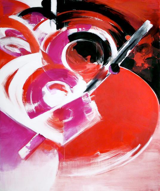ARIUM, Painting, Acrylic on Canvas 72hx60w