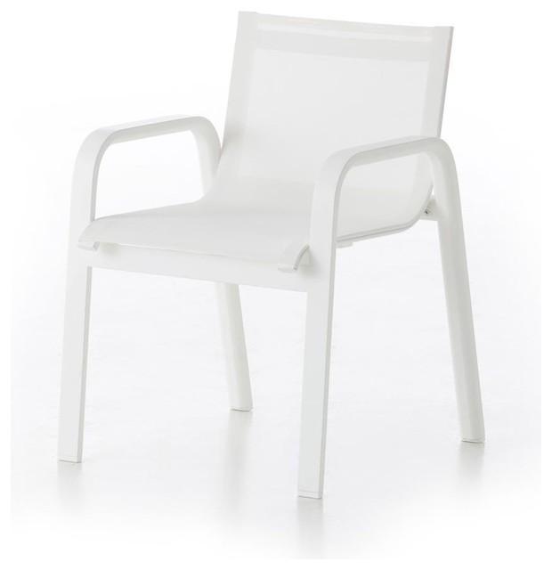 stack gartenstuhl mit armlehnen minimalistisch. Black Bedroom Furniture Sets. Home Design Ideas