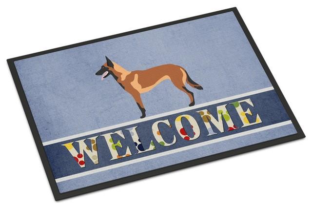 German Shepherd Breed of Dog Welcome Floormat Doormat Indoor Use Perfect Gift