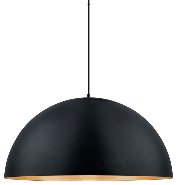 "Eglo 201295A 31 1/2"" Wide Single Light LED Pendant from the Gaetano Collection"