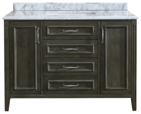 Bathroom Vanities With Drawers jude french bathroom vanity - contemporary - bathroom vanities and