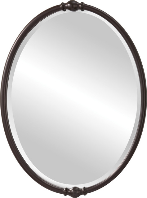 Jackie Oil Rubbed Bronze Mirror, Oil Rubbed Bronze, Clear.