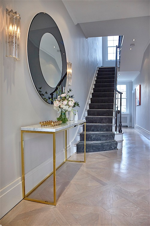 Brass&Marble Console Table
