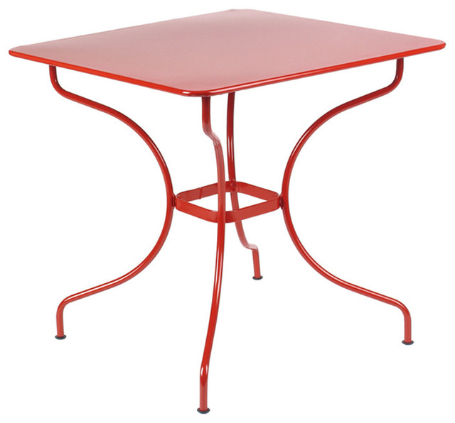 Fermob opera square table modern side tables and end - Fermob opera table ...