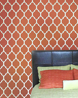 Casablanca Moroccan Stencil Reusable Stencils For Walls