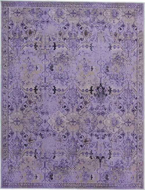Purple Tabriz Over Dyed Rug · More Info
