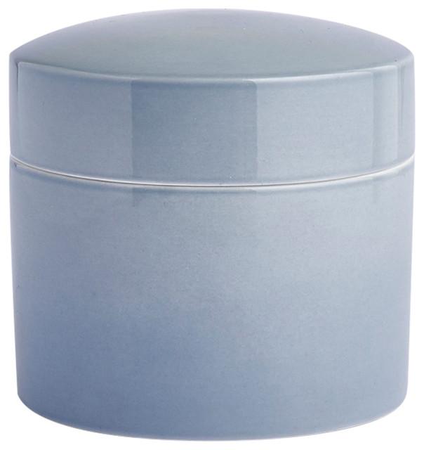 Anne Black Contain Jar, High Thunder, Small