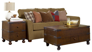 Great Hammary Hidden Treasures 2 Piece Trunk Coffee Table Set   Traditional   Coffee  Table Sets   By Beyond Stores