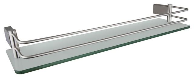 """Ucore 20"""" Glass Shelf With Mounting Hardware"""