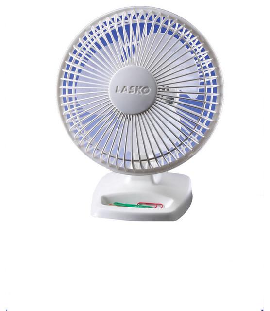 6 Personal Fan, White.