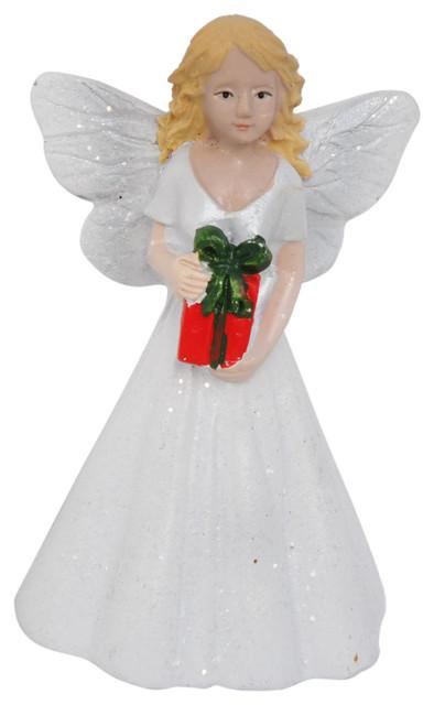 Christmas Fairy for Miniature Garden, Fairy Garden