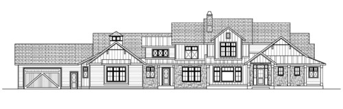 Is This House Too Long Honest Opinions On Our Elevation Please - What is our elevation