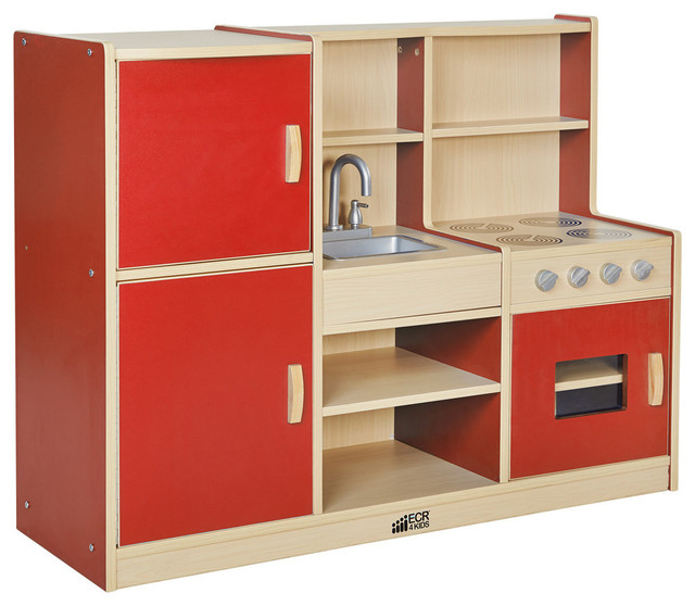 Shop Houzz Ecr4kids Colorful Essentials 4 In 1 Play