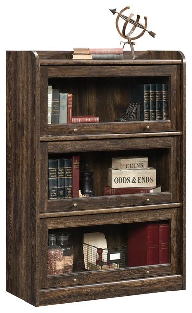 Barrister Lane Bookcase, Iron Oak.