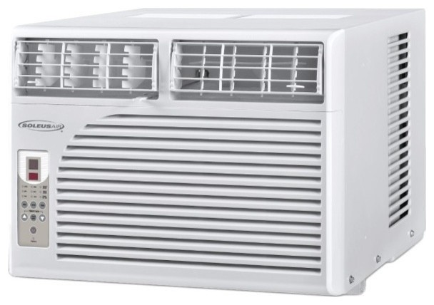 Soleus soleus 15 000 btu window ac reviews houzz for 12000 btu casement window air conditioner