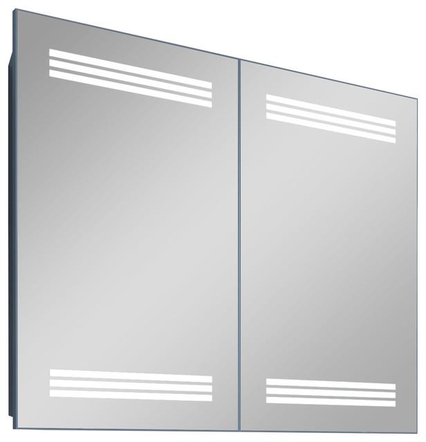 Mila 30 Contemporary Illuminated LED Bathroom Medicine Cabinet