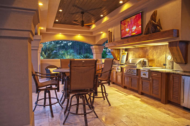 Naturekast Outdoor Kitchen Cabinetry - Tropical - San Diego - By