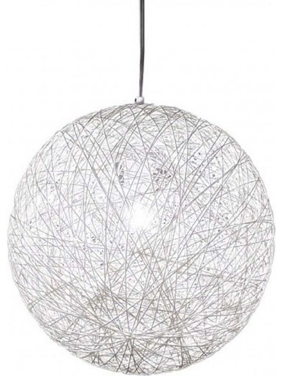 The Chaos Pendant Light, White - Scandinavian - Pendant Lighting ...