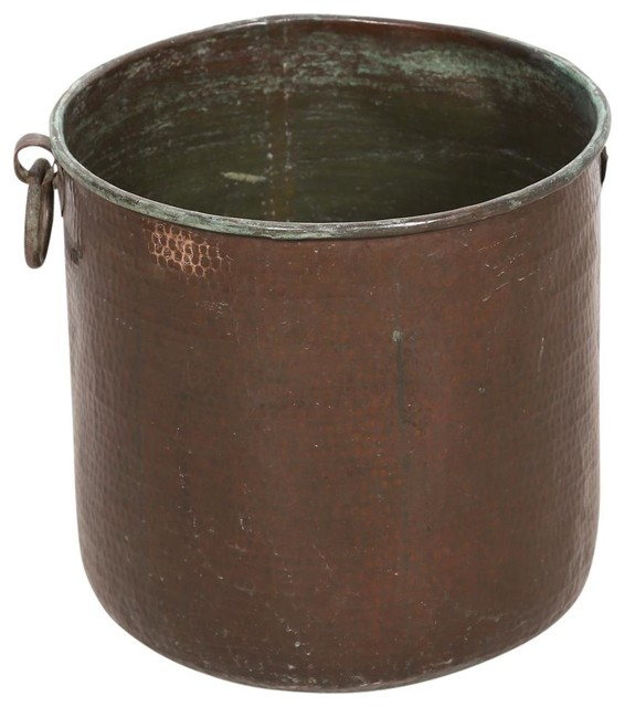 Hand Hammered Grain Container