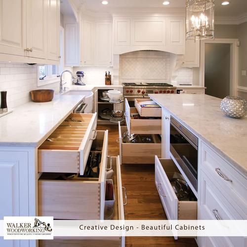 #designwednesday #walkerwoodworking #beautifulcabinets #shelbync #charlotte  #asheville #designinspiration #Greenbrookdesign #whitekitchen #whitecabinets