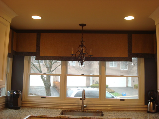 kitchen valances - traditional - chicago -barbara tabor