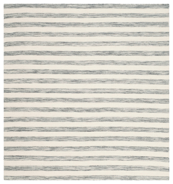 safavieh hudson dhurrie rug gray and ivory square