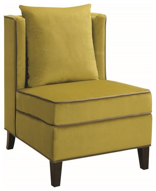 Cool Rue Berger Accent Chair Chartreuse Machost Co Dining Chair Design Ideas Machostcouk