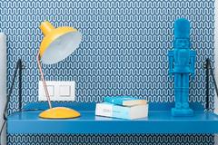 Visita privada: Un piso masculino para un amante del azul