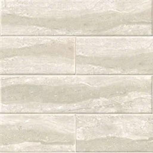 Gris Travertine Classique Cermaic Glazed Tile Glassy