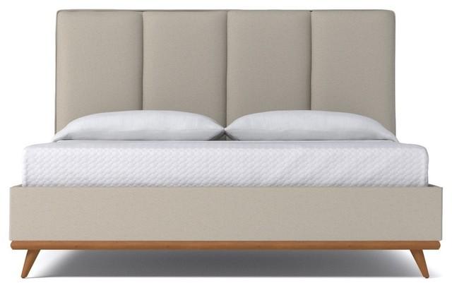 Carter Upholstered Bed From Kyle Schuneman Woven Beach Woven Beach