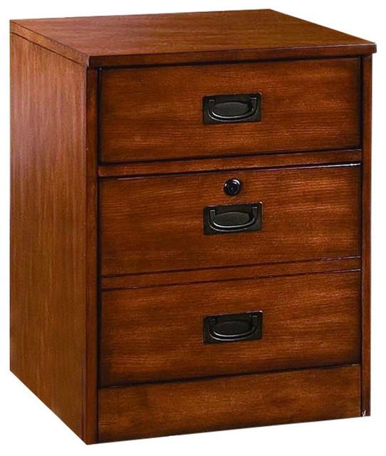 Danforth Mobile File - Transitional - Filing Cabinets - by Hooker Furniture