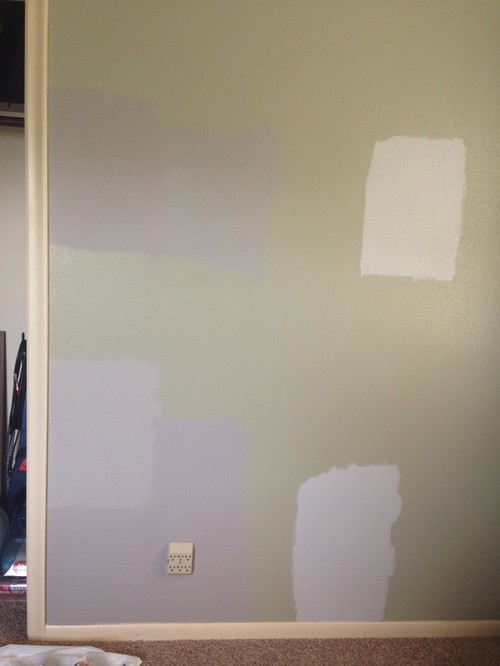 Grey paint needed to coordinate with cream colored trim for Light gray taupe paint