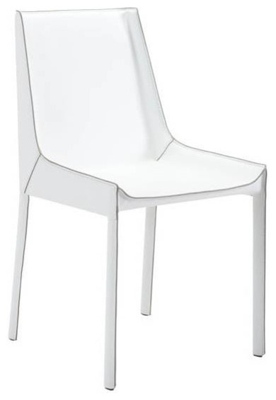 Fashion Dining Chair, Set of 2, White